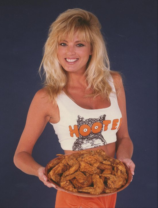 Hooters - The Saga - Lynne Austin with Nearly World Famous Chicken Wings