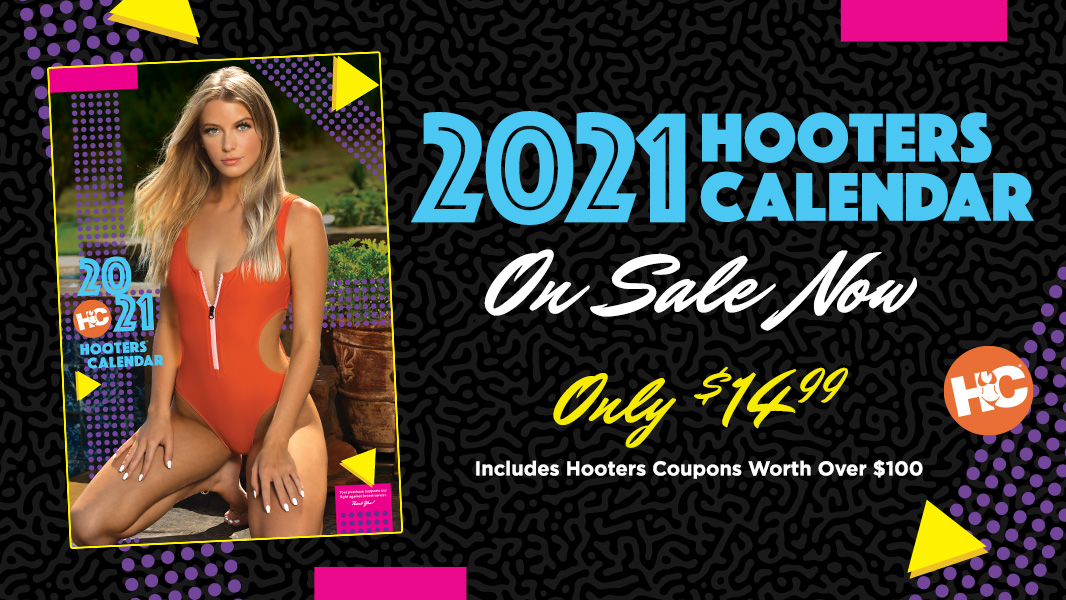 2021 Hooters Calendar On Sale Now