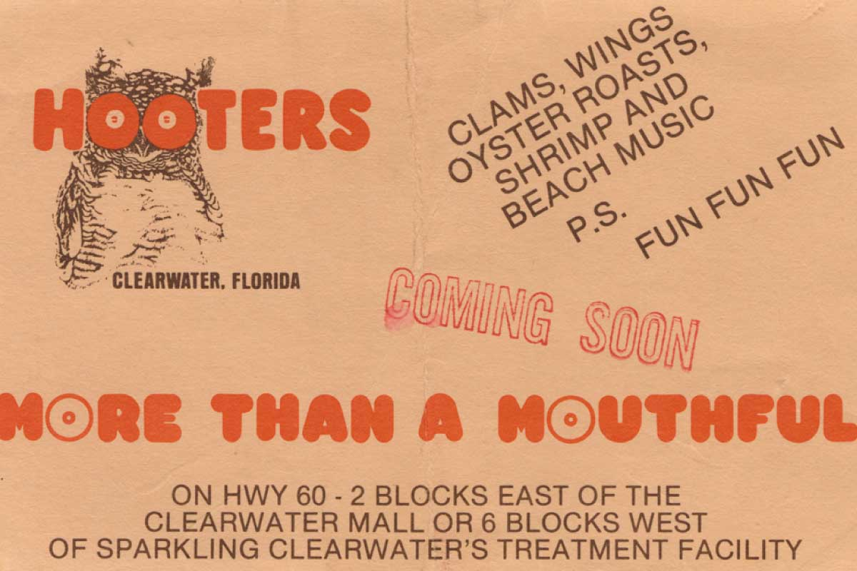 Hooters - Original Ad - More Than A Mouthful