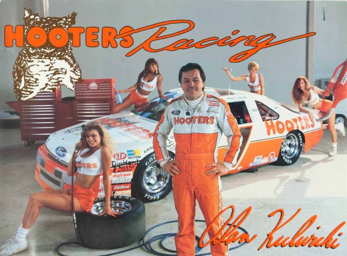 Hooters Racing with Alan Kulwicki